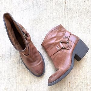 Lucky Brand LK-BAMBI Heeled Ankle Boots Booties